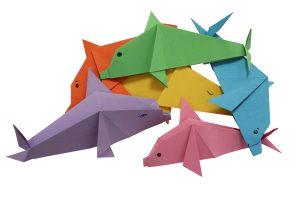 Origami Delfin