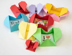 Origami Herzbox