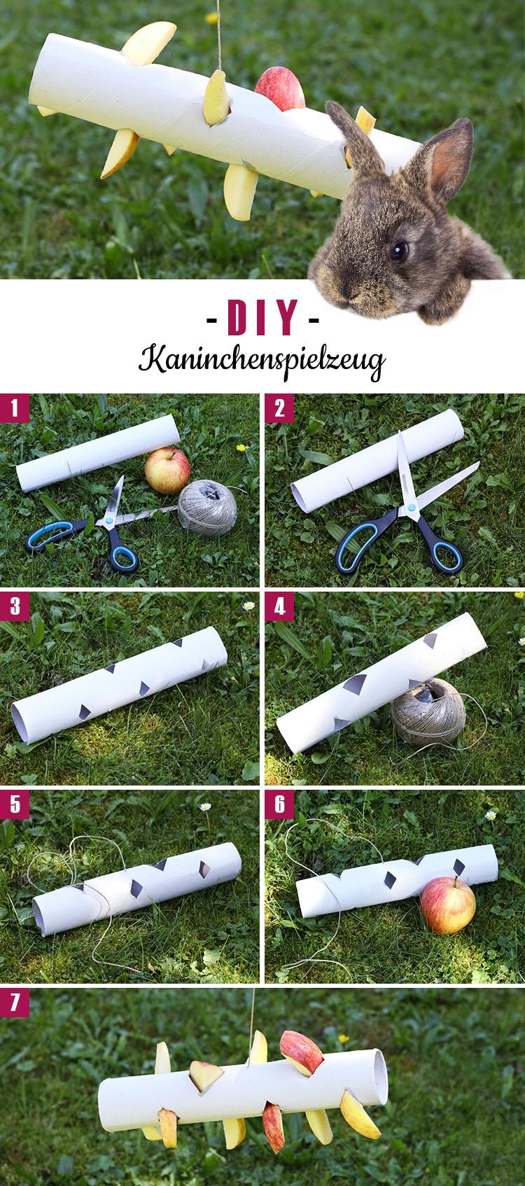 DIY: Kaninchenspielzeug selber basteln